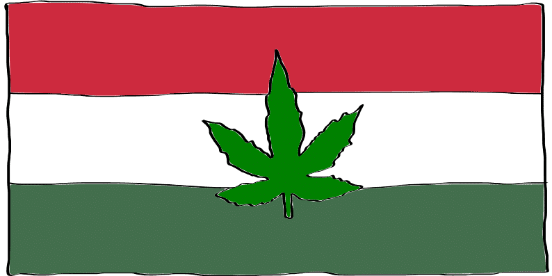 is marijuana legal in Hungary