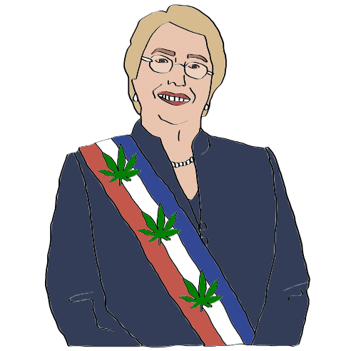 is weed legal in Chile
