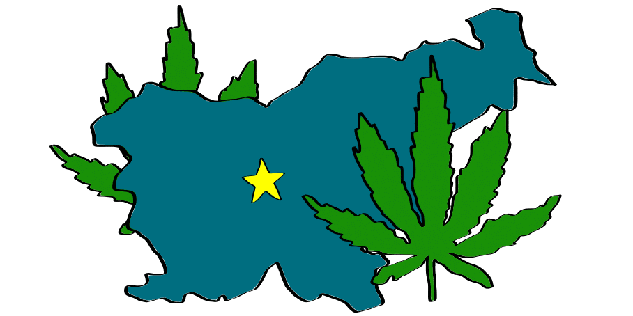 is weed legal in Slovenia