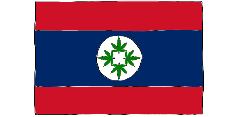is weed legal in Laos