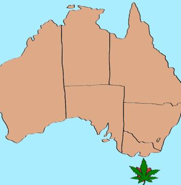 weed in Tasmania