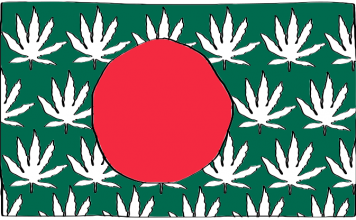 is weed legal in Bangladesh